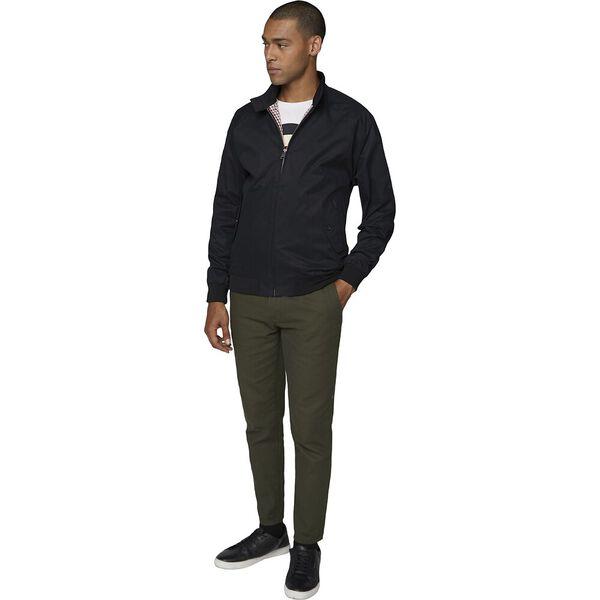 Harrington Jacket, BLACK, hi-res