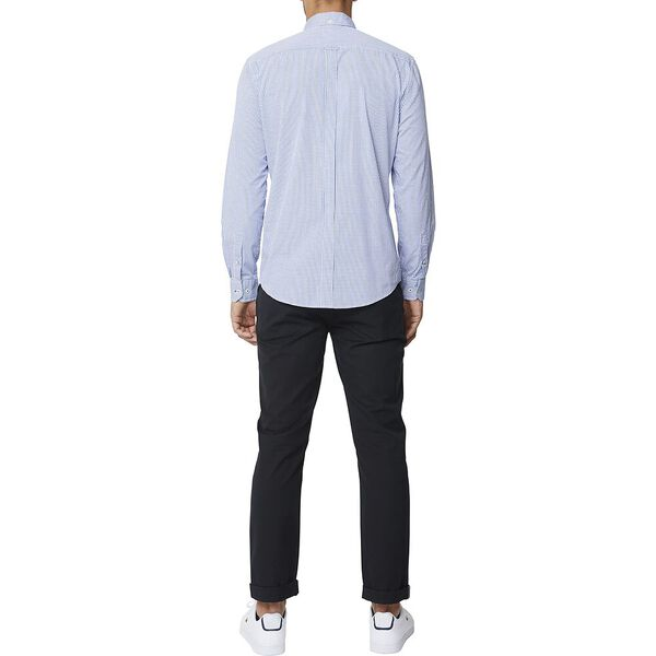 Grid Check Mod Ls Shirt Bright Blue, BRIGHT BLUE, hi-res