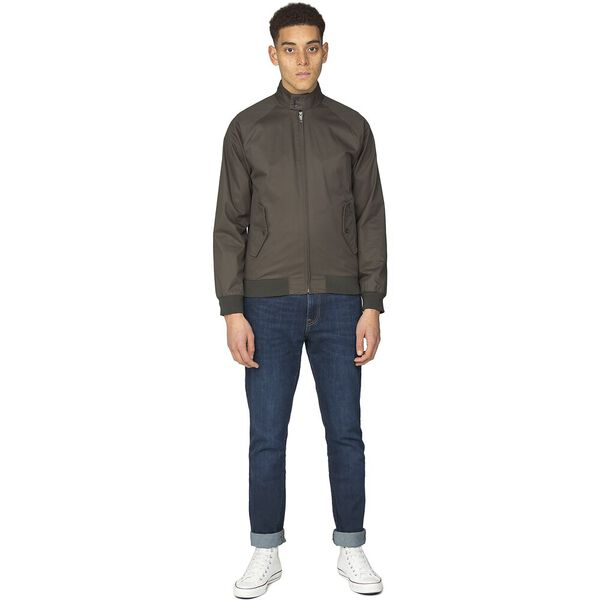 Harrington Jacket, DARK GREEN, hi-res