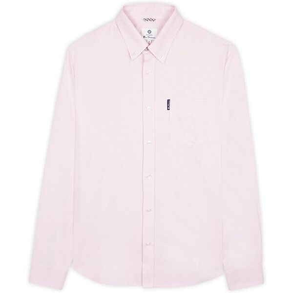 SIGNATURE OXFORD SHIRT, LT PINK, hi-res