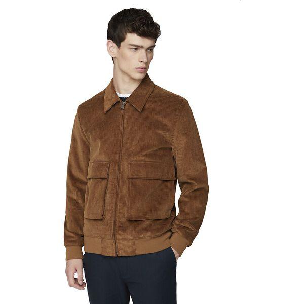 Cord Jacket Tan