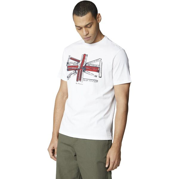 Union Music Tapes Tee, WHITE, hi-res