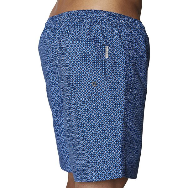 SCALE GEO SWIM SHORT, NAVY, hi-res