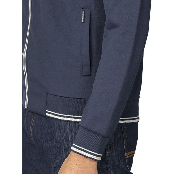 TRICOT TRACK TOP DARK, DARK NAVY, hi-res