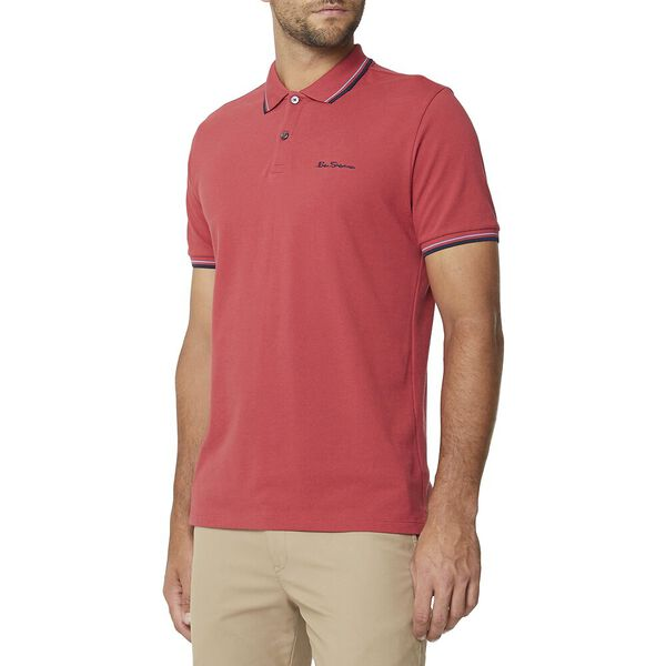 Signature Romford Polo Ruby Red