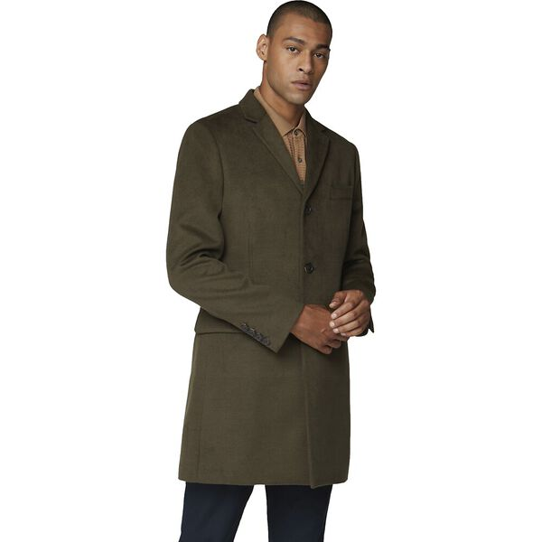 Tailored Coat Dark Green