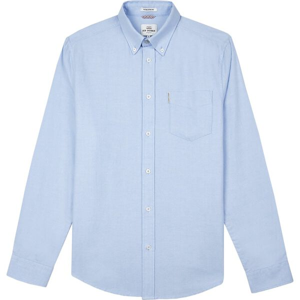 Oxford Shirt, BLUE SHADOW, hi-res