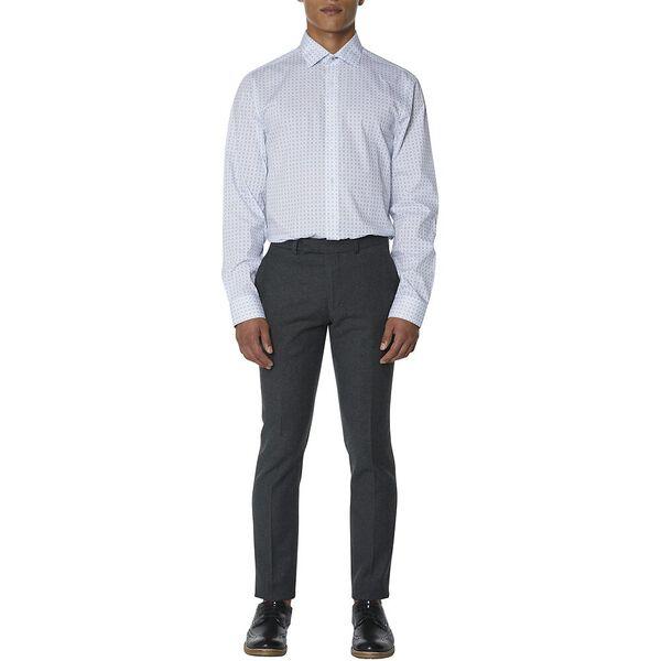 Formal Dash Print Kings Shirt, PALE BLUE, hi-res