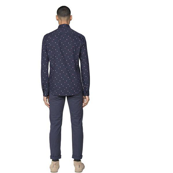 Clip Float Stripe Shirt, DARK NAVY, hi-res