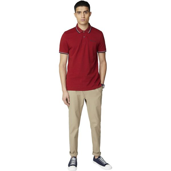 SIGNATURE POLO, RED, hi-res