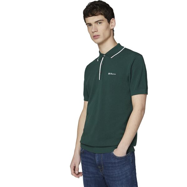 Resort Neck Knit Polo