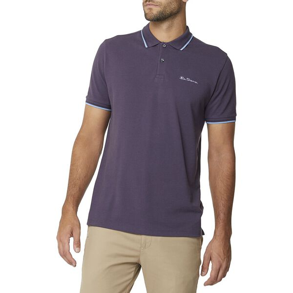 Signature Romford Polo Mulberry