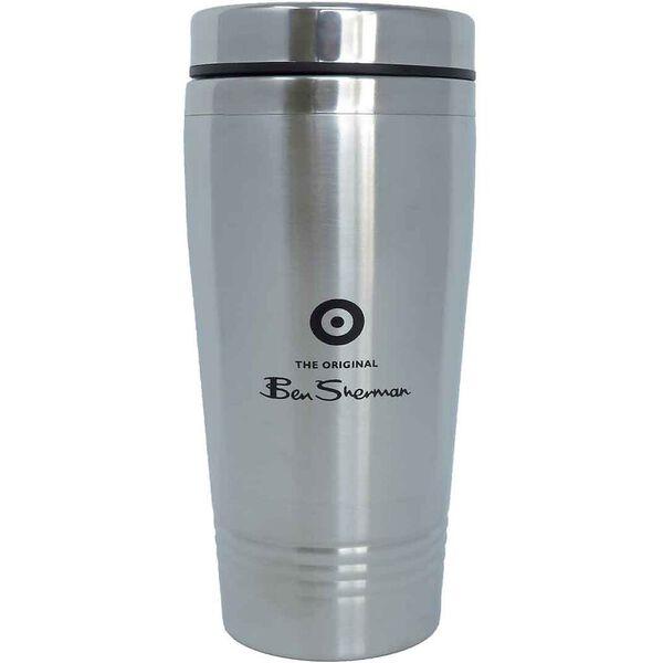 Metal Commuter Cup Silver, NAVY, hi-res