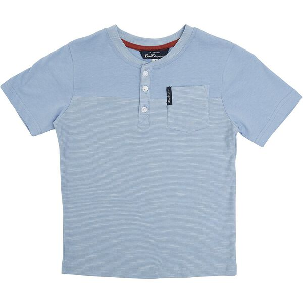 3 PIECE SET WITH TEE, RED/BLUE/TAN, hi-res