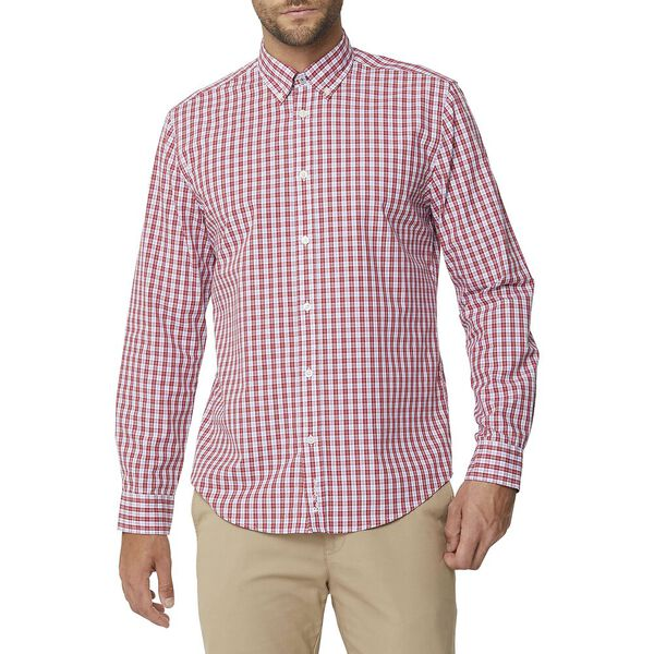 GINGHAM CHECK MOD SHIRT
