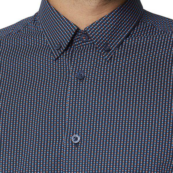 Ls Mini Motif Shirt Cinnamon, CINNAMON, hi-res