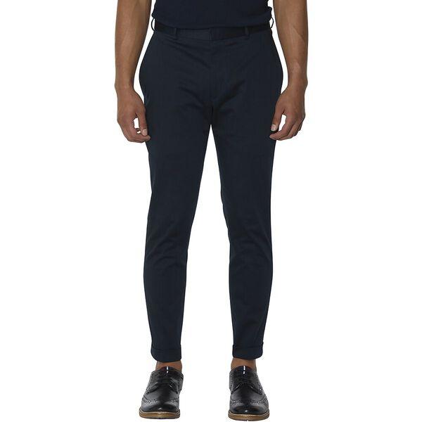 Navy Cotton Trouser