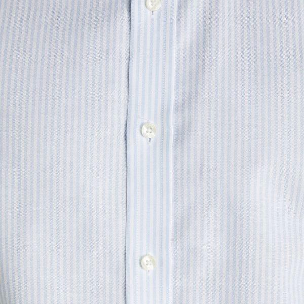 FORMAL OXFORD STRIPE CAMDEN SHIRT, ICE BLUE, hi-res
