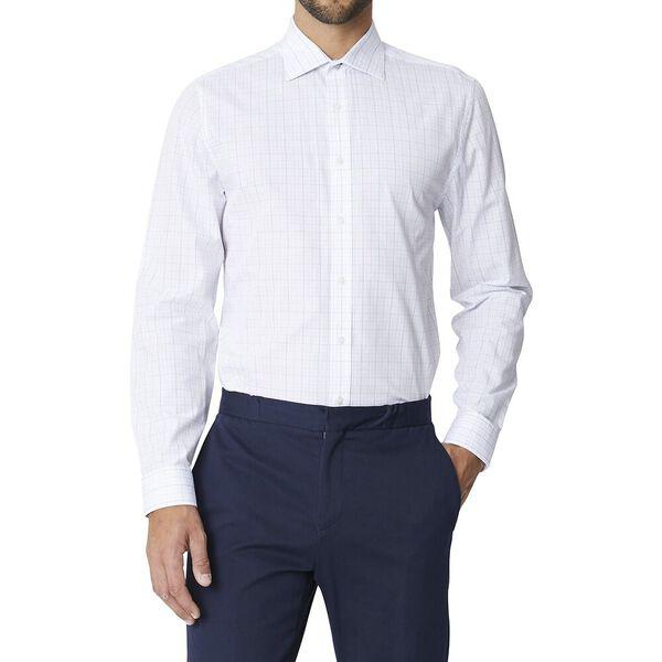 Ls Formal Kings Grid Check Shirt True Na