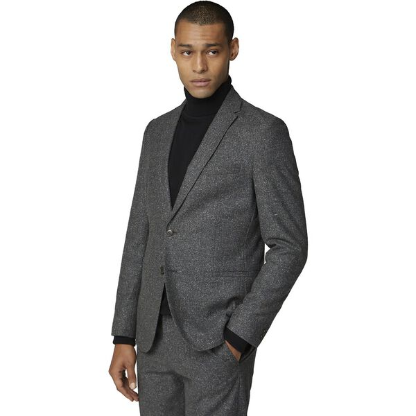 CHARCOAL SPECKLE JACKET CHARCOAL