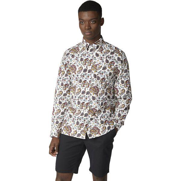 Multi Col Paisley Shirt