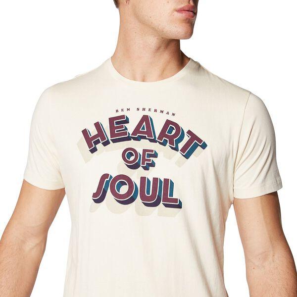 HEART OF SOUL T-SHIRT, BEIGE, hi-res