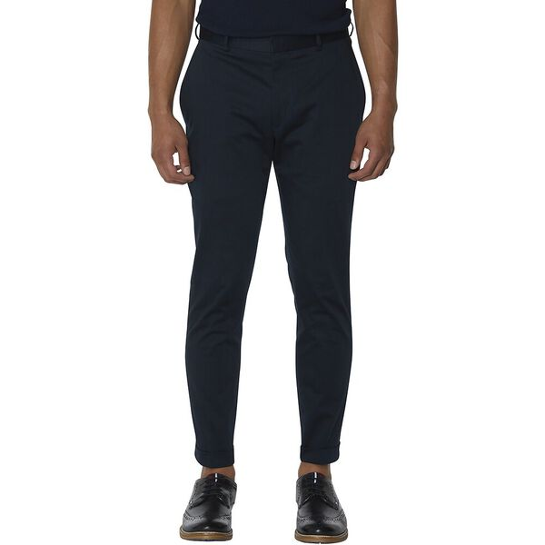 Navy Cotton Trouser, NAVY, hi-res
