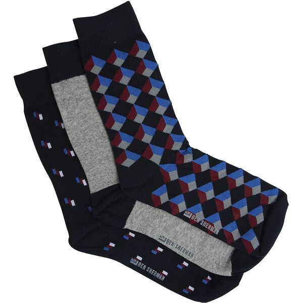 CHARTER PARTY 3 PACK SOCKS
