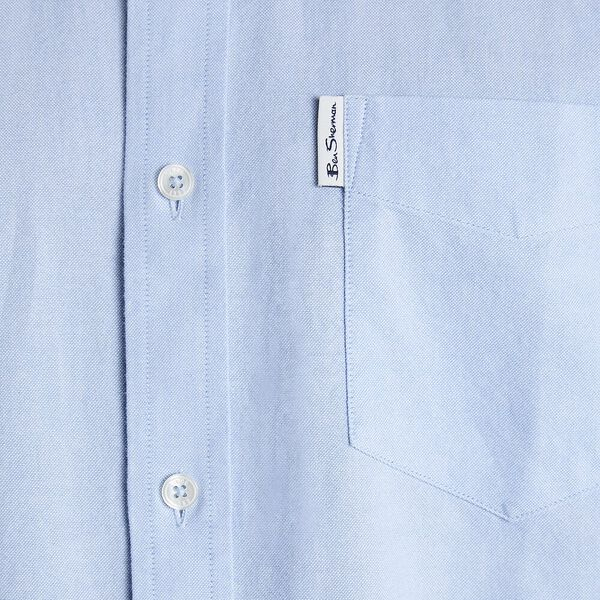 SIGNATURE OXFORD SHIRT, BLUE SHADOW, hi-res