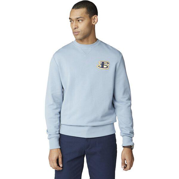 Cornelli Logo Sweat, DUSKY BLUE, hi-res