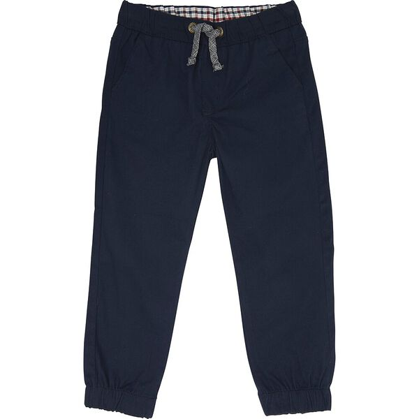 Woven Pull On Pants Navy Blazer