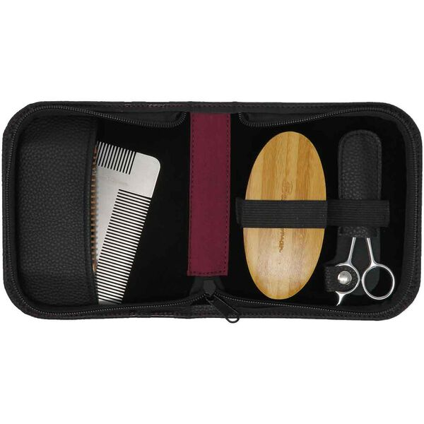 BEARD GROOMING SET BLACK