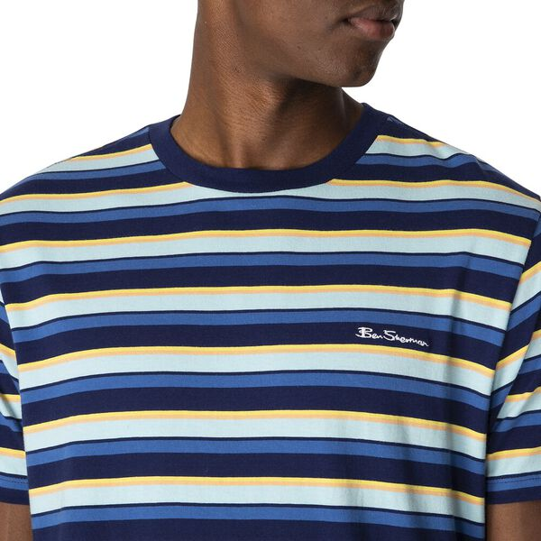 YARDAGE STRIPE TEE, INK, hi-res