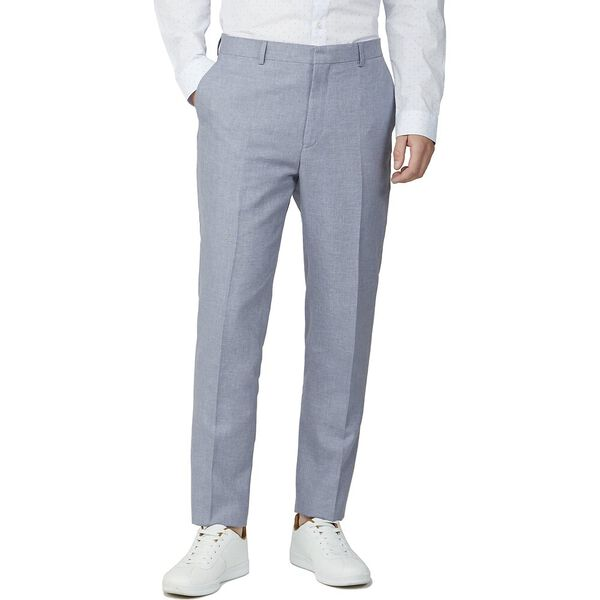 PALE BLUE CHAMBRAY CAMDEN TROUSER