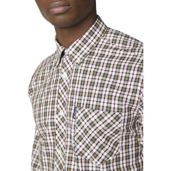 Classic Check Shirt, DIJON, hi-res