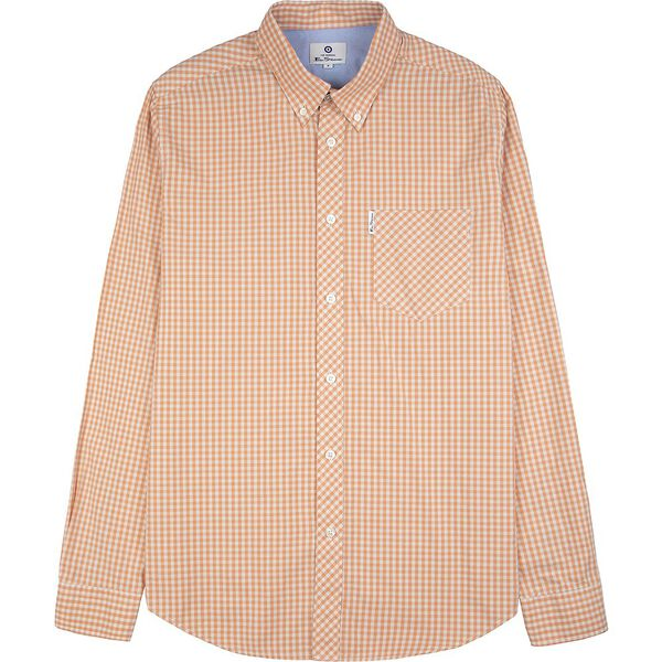 SIGNATURE GINGHAM, PEACH, hi-res