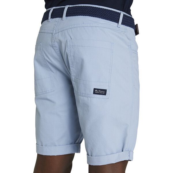 5 POCKET WALK SHORT, BLUE GREY, hi-res