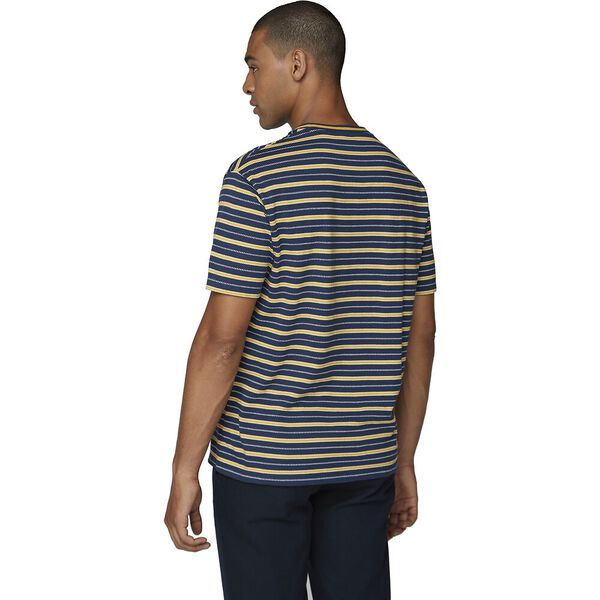 Retro Stripe Tee Midnight, MIDNIGHT, hi-res