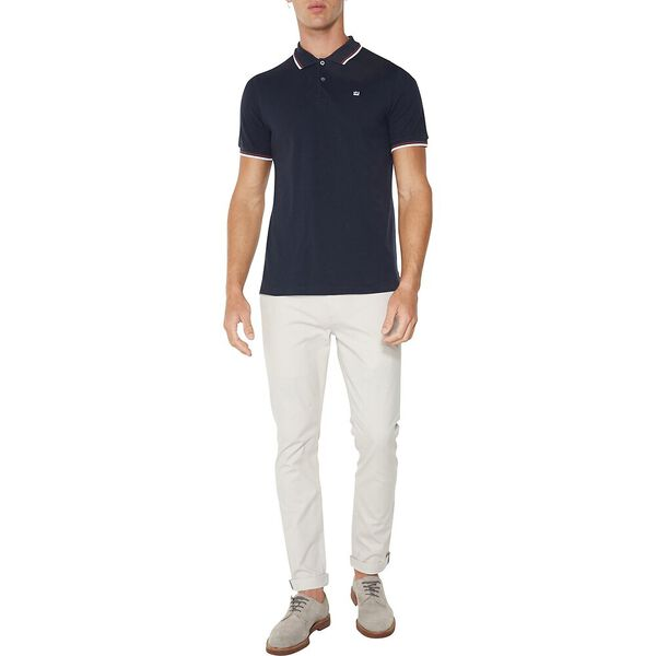 THE ROMFORD POLO, NAVY WHITE, hi-res