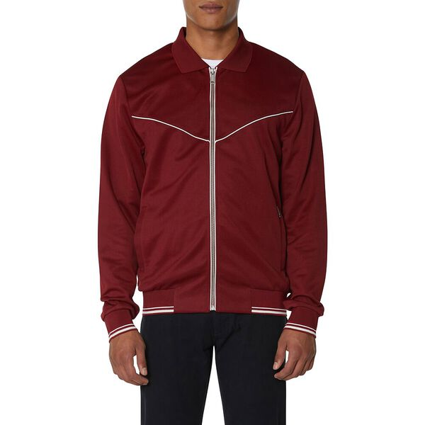 Tricot Track Top Red, RED, hi-res