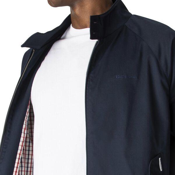 Harrington Jacket, NAVY, hi-res