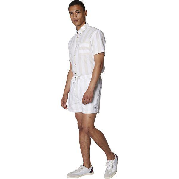 CANDY STRIPE ELASTIC SHORT OFF WHITE, OFF WHITE, hi-res