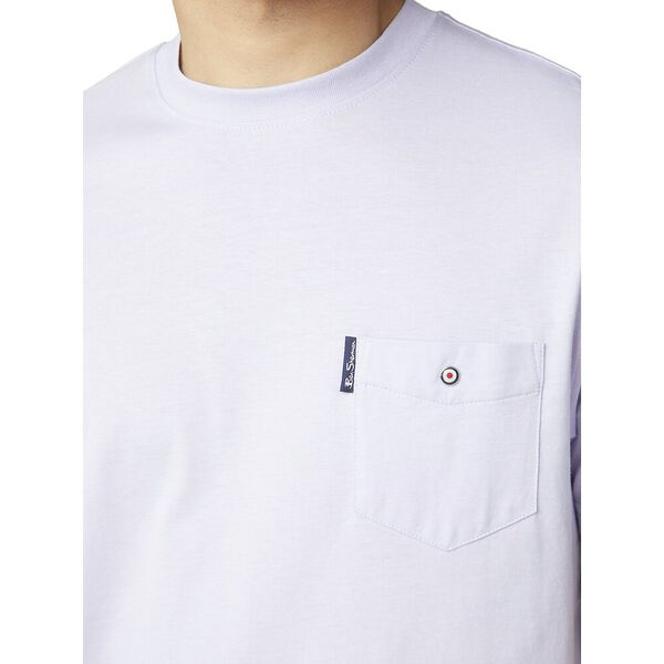 SIGNATURE POCKET TEE, LILAC, hi-res
