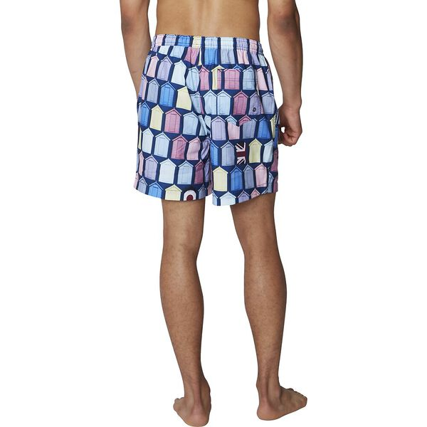 Beach Hut Swim Short, BRIGHT BLUE, hi-res