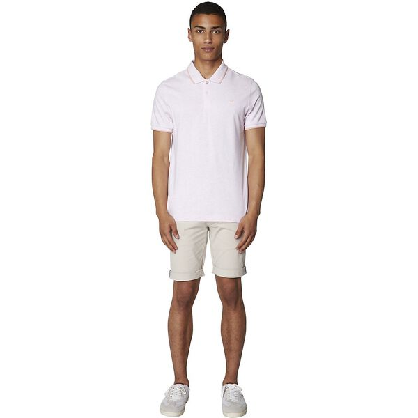 THE ROMFORD POLO, PINK MARL, hi-res