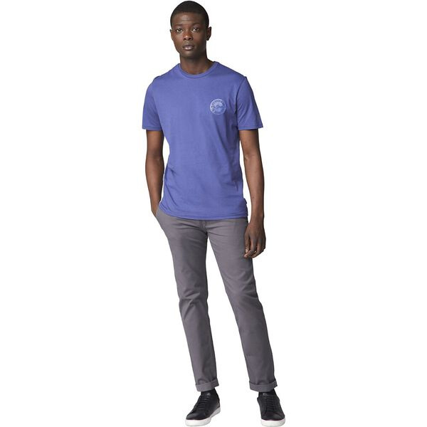 Embossed Circle Tee Cobalt, COBALT, hi-res