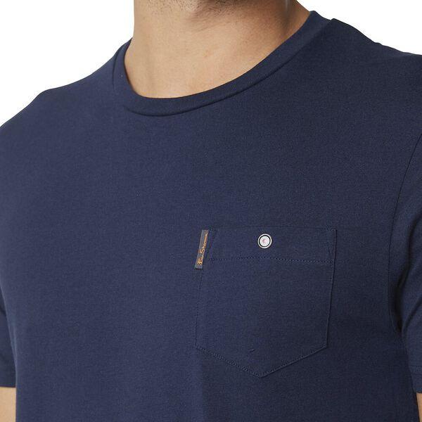 Pocket T Shirt Navy, NAVY, hi-res