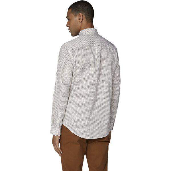 Ls Mini Motif Shirt White, WHITE, hi-res