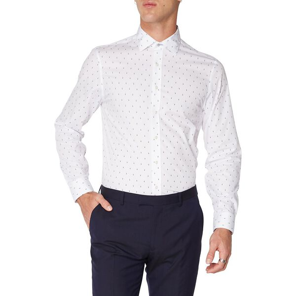 FORMAL DIAMOND PRINT KINGS SHIRT