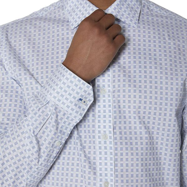 Formal Dash Print Kings Shirt, PALE BLUE, hi-res